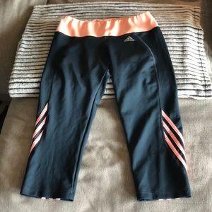 Adidas capri workout pants!